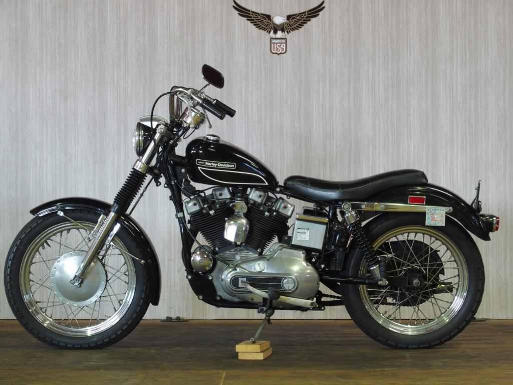 ハーレーダビッドソン 1972 XLCH 1000 車体写真4