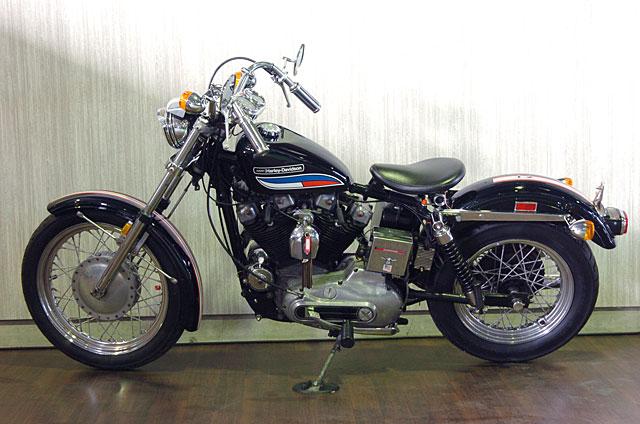 ハーレーダビッドソン 1972 XLCH 車体写真6