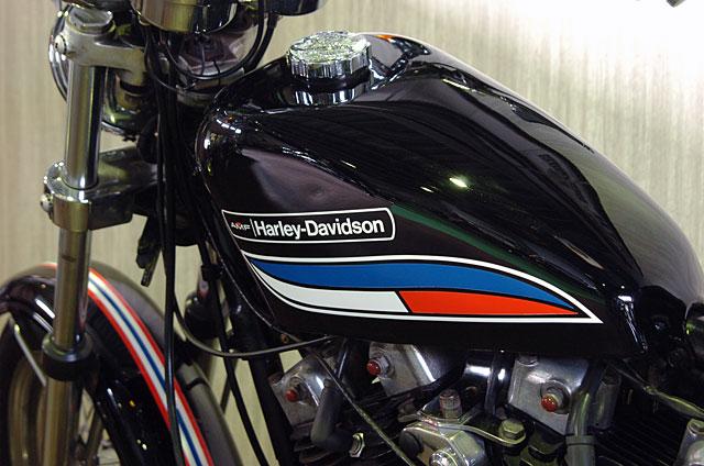 ハーレーダビッドソン 1972 XLCH 車体写真11