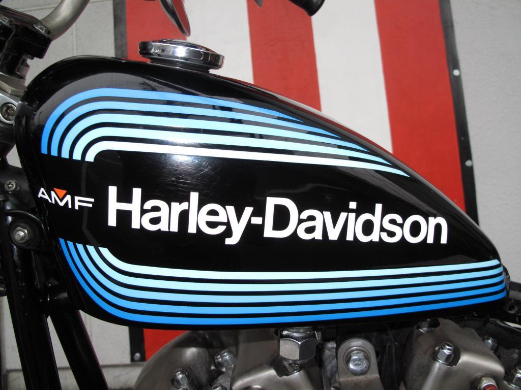 ハーレーダビッドソン 1973 FX 1200 Ridgid 車体写真9