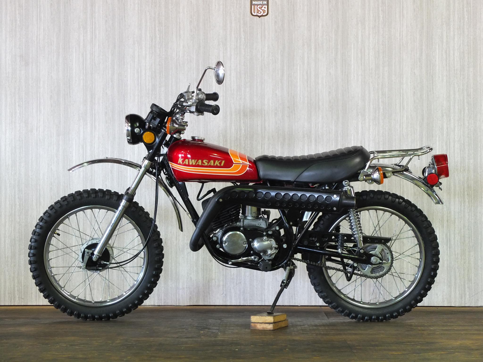 カワサキ 1973 Kawasaki KV100 車体写真4