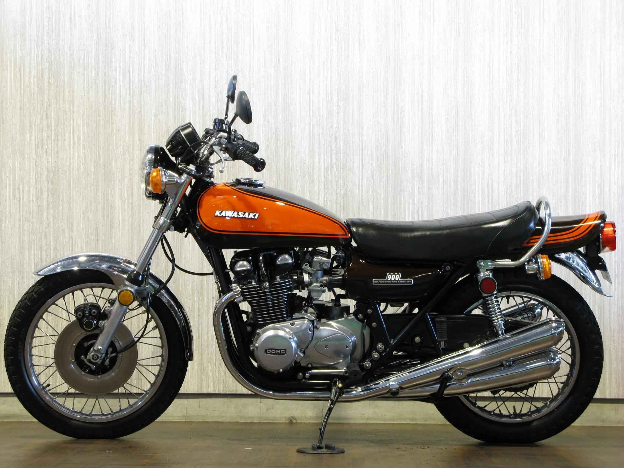 カワサキ 1972 Kawasaki Z1 車体写真4