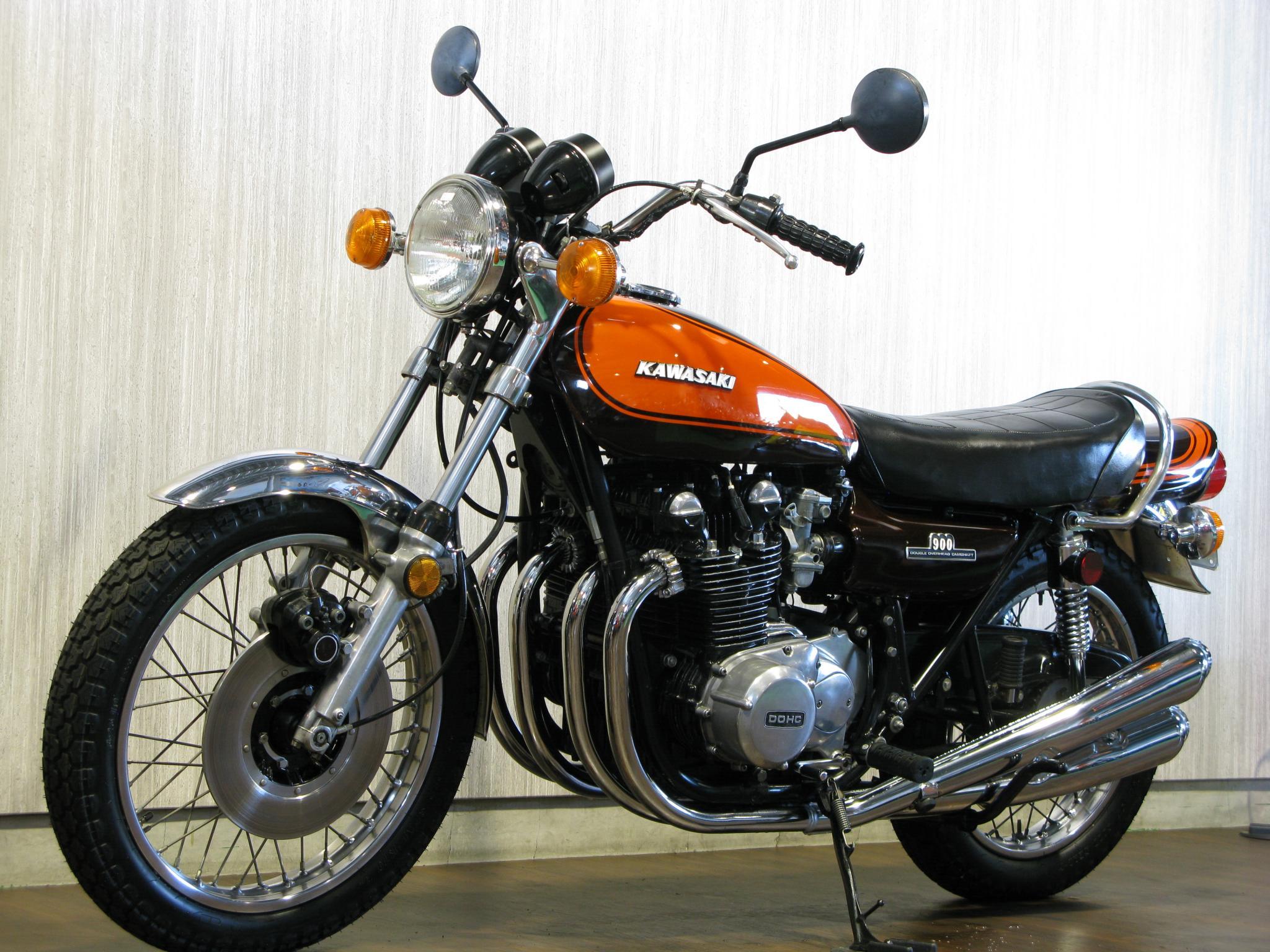 カワサキ 1972 Kawasaki Z1 車体写真5