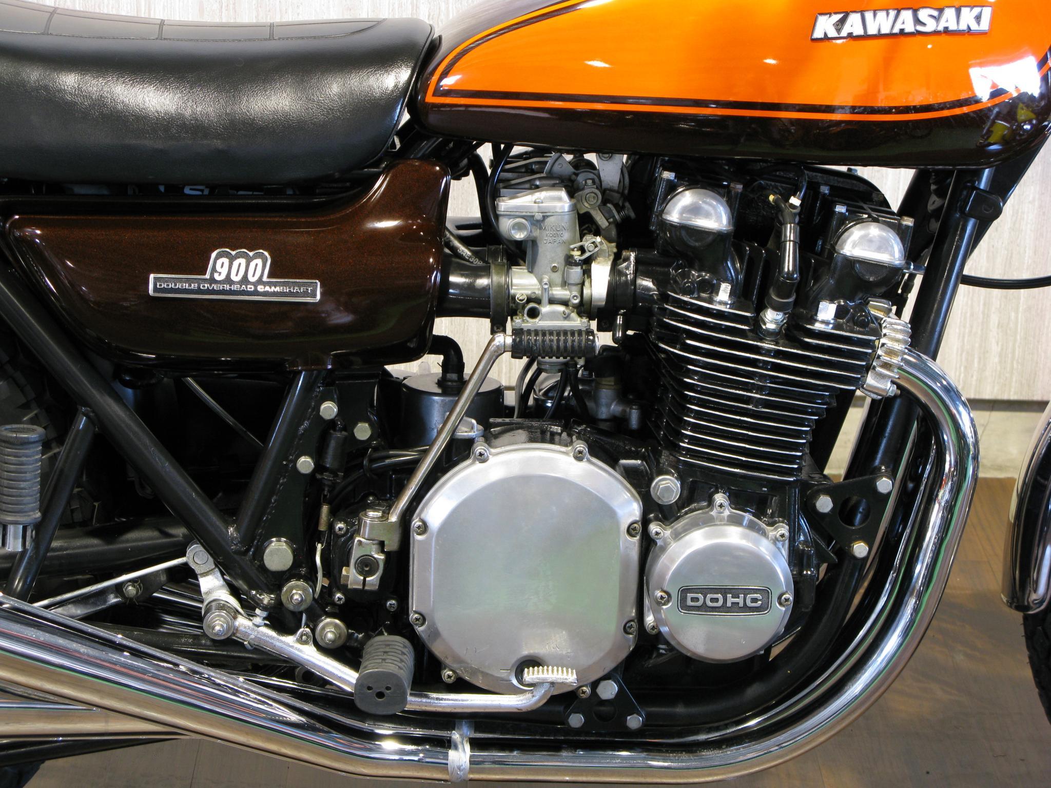 カワサキ 1972 Kawasaki Z1 車体写真7