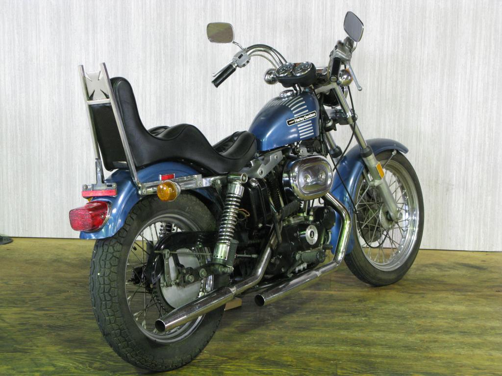 ハーレーダビッドソン 1973 XLCH 1000 車体写真3