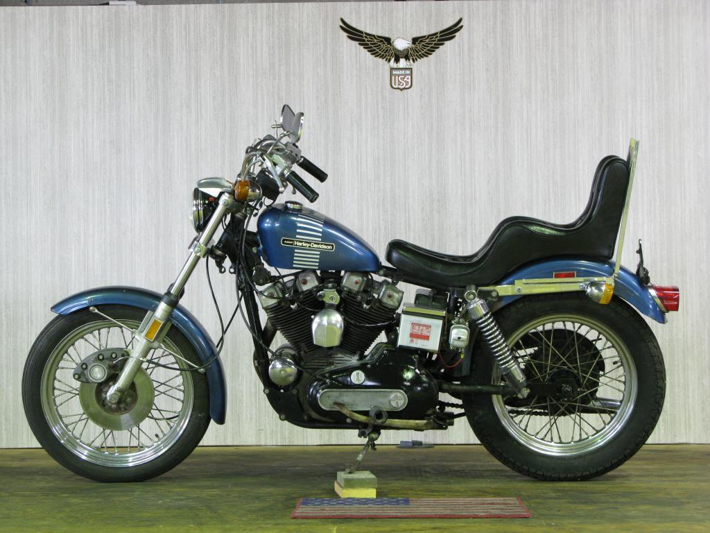 ハーレーダビッドソン 1973 XLCH 1000 車体写真4