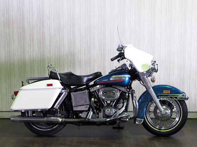 ハーレーダビッドソン 1974 FLH 1200cc 車体写真1