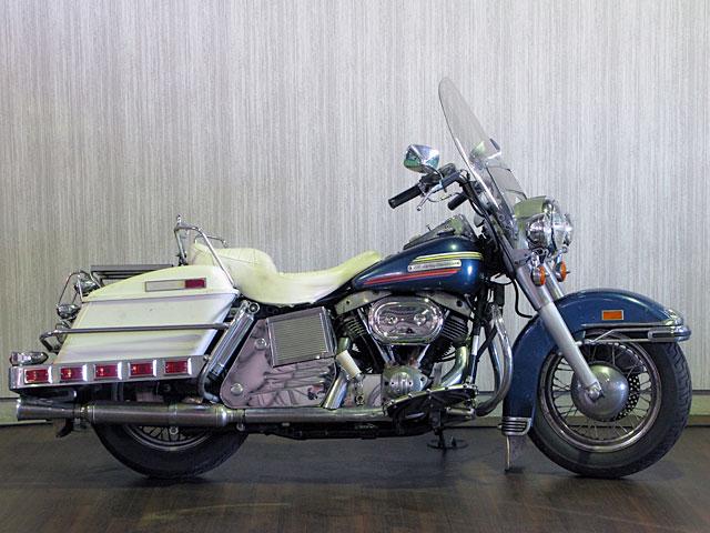 ハーレーダビッドソン 1974 FLH 1200 車体写真1