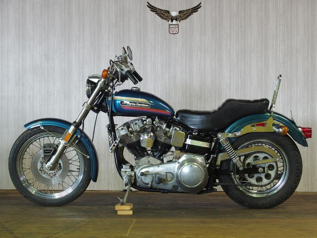 ハーレーダビッドソン 1974 FXE 1200 Super Glide 車体写真4