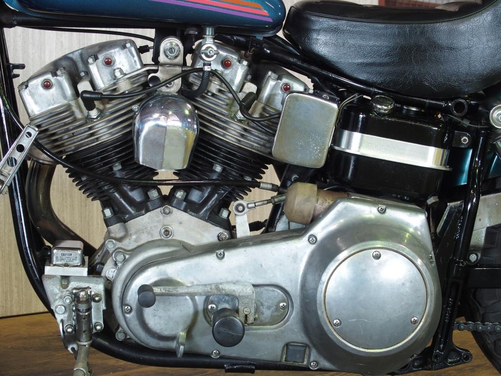ハーレーダビッドソン 1974 FXE 1200 Super Glide 車体写真8