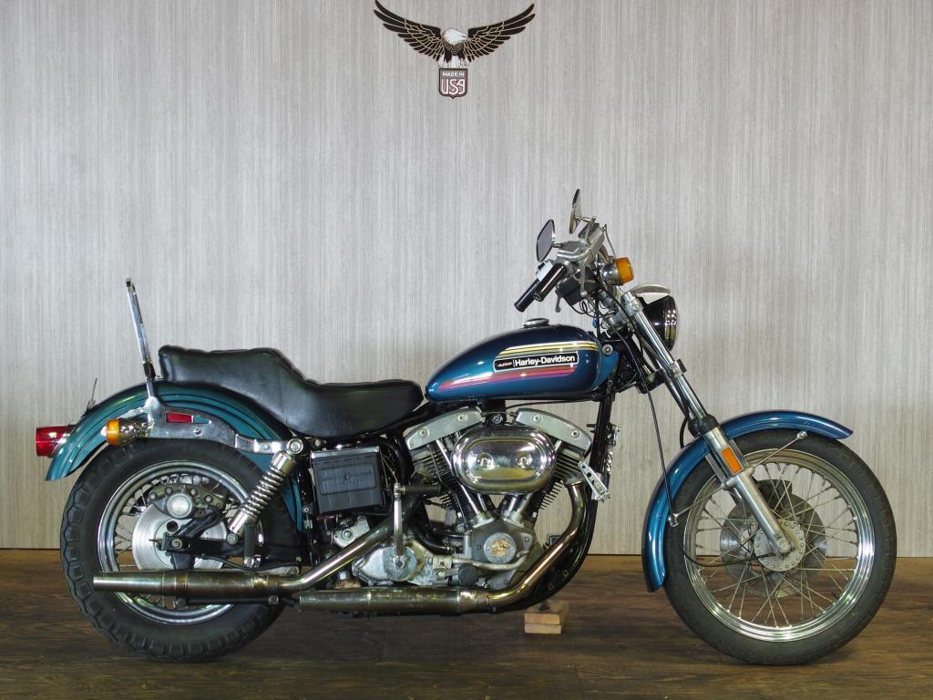 ハーレーダビッドソン 1974 FXE 1200 Super Glide 車体写真1