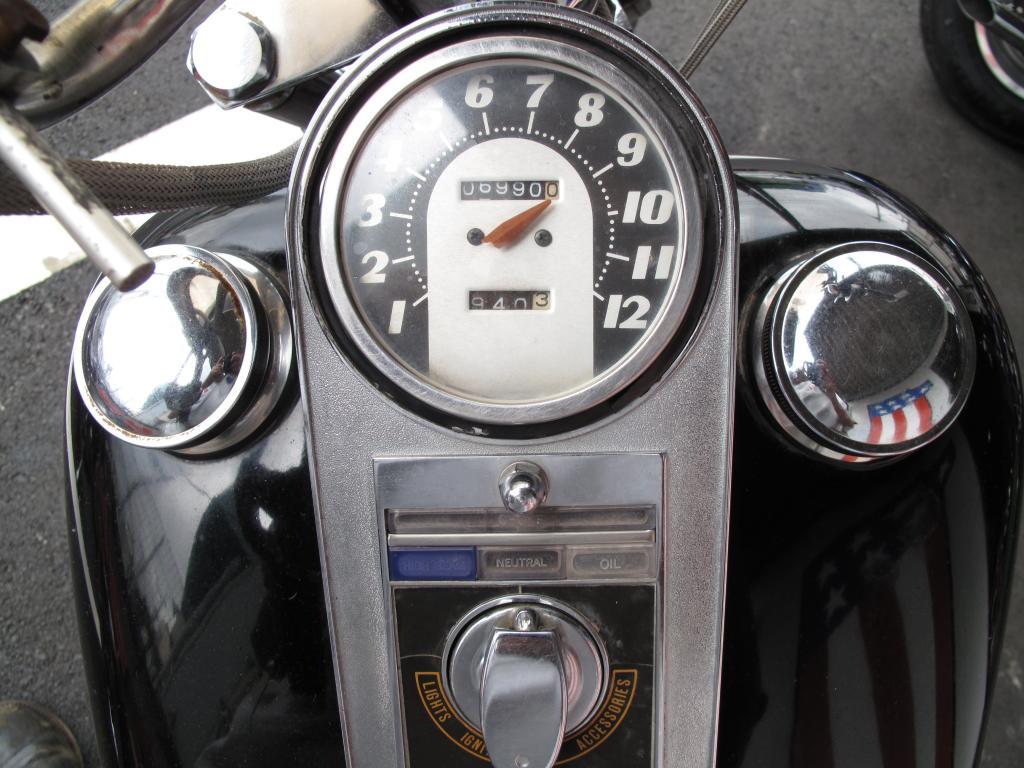 ハーレーダビッドソン 1974 FXE 1200 車体写真10