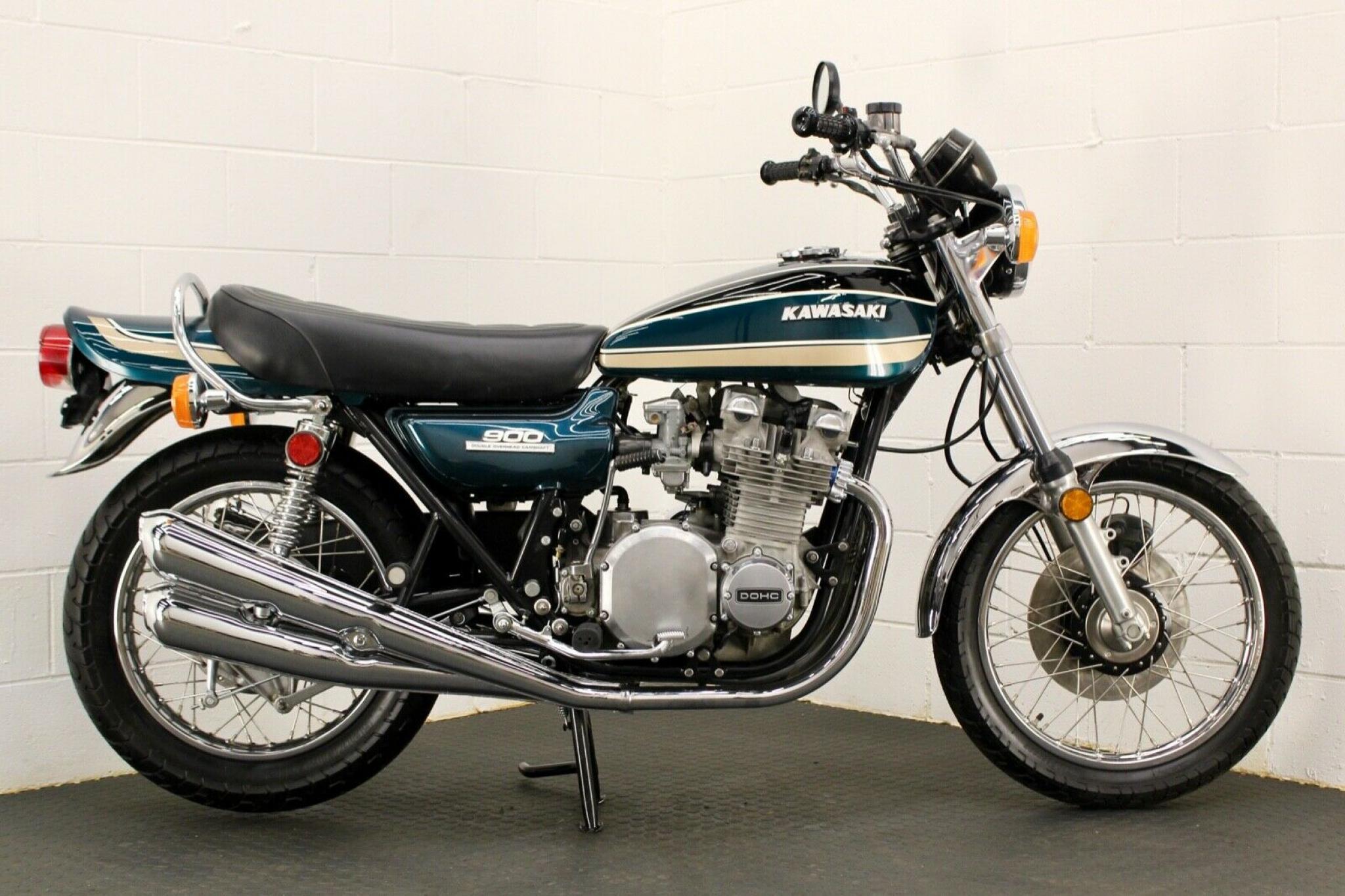 カワサキ 1974 Kawasaki Z1 A 900 車体写真1