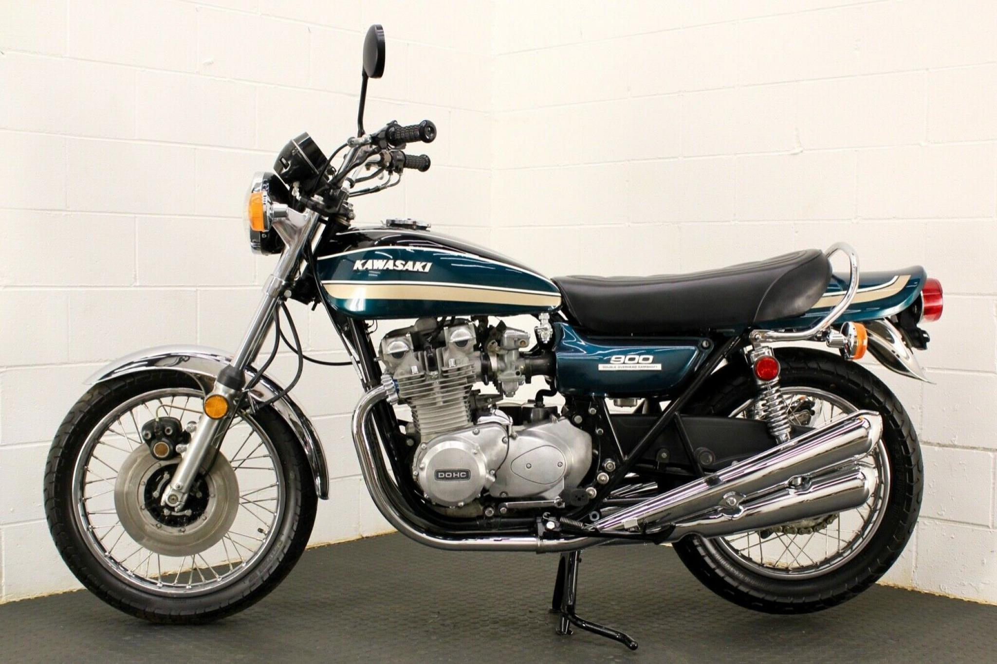 カワサキ 1974 Kawasaki Z1 A 900 車体写真2