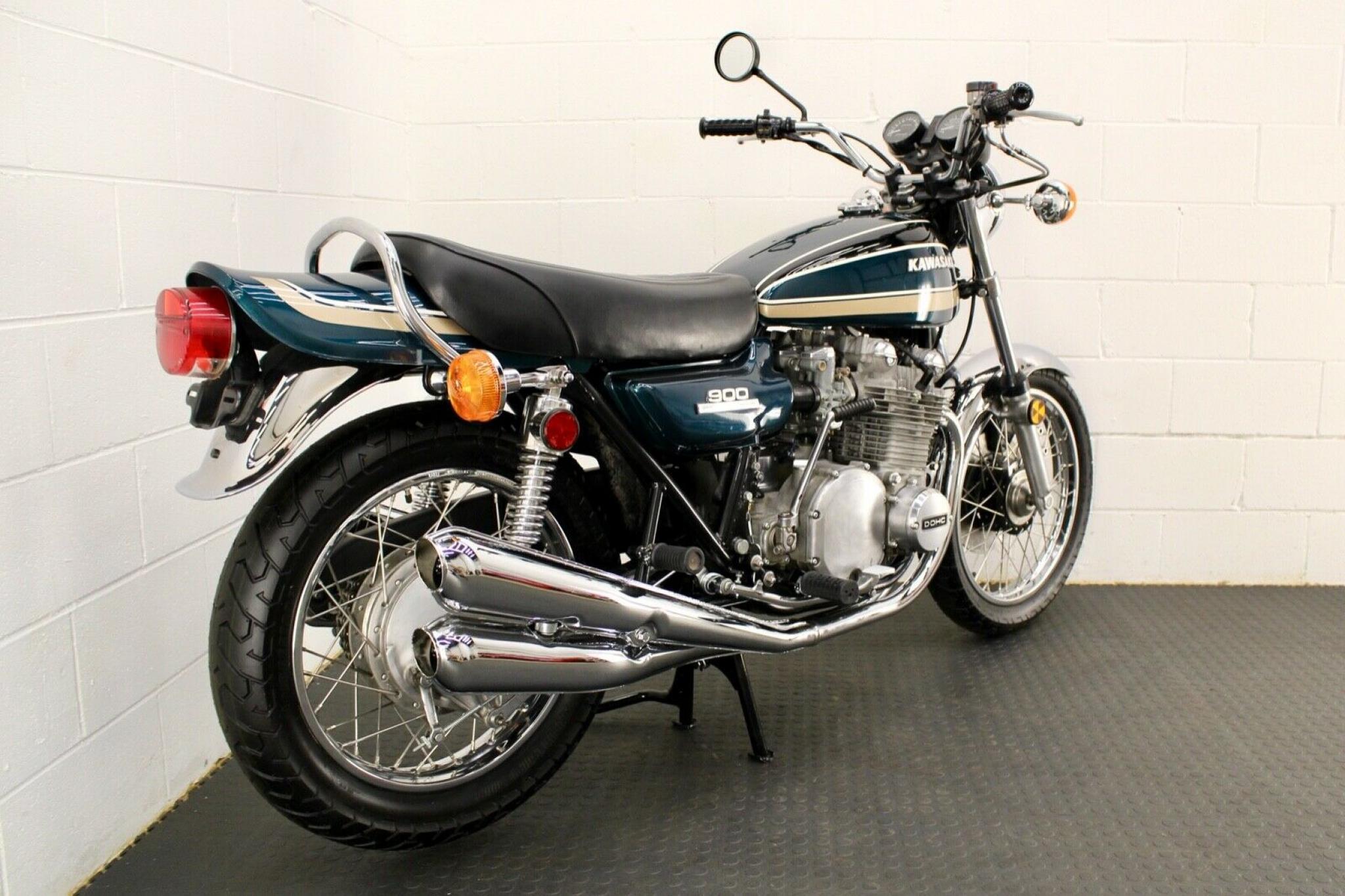カワサキ 1974 Kawasaki Z1 A 900 車体写真6