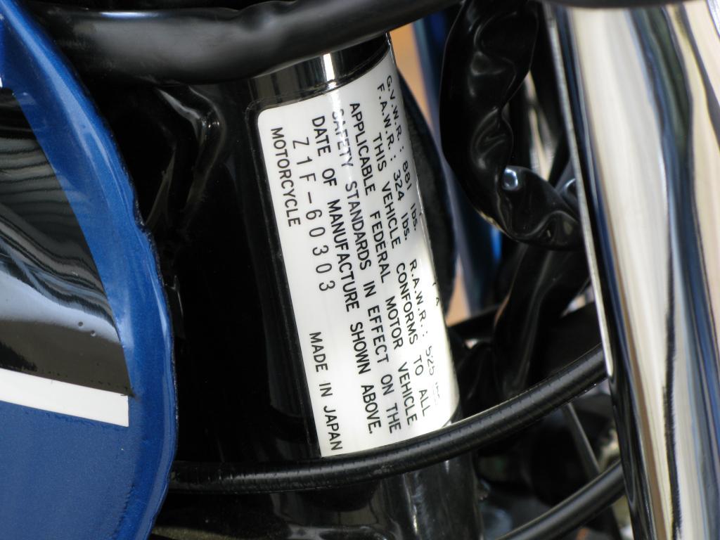 カワサキ 1974 Kawasaki Z1 車体写真11