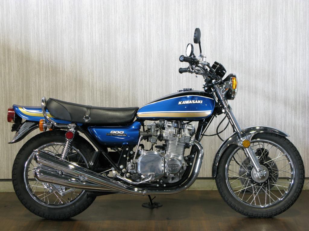 カワサキ 1974 Kawasaki Z1 車体写真1