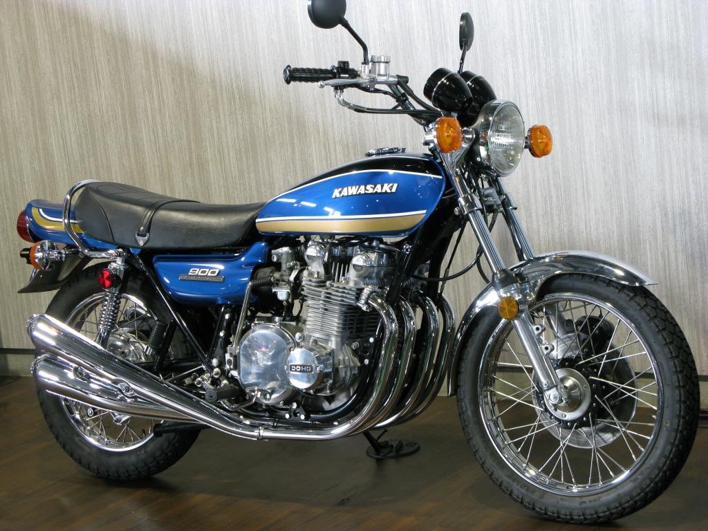 カワサキ 1974 Kawasaki Z1 車体写真2