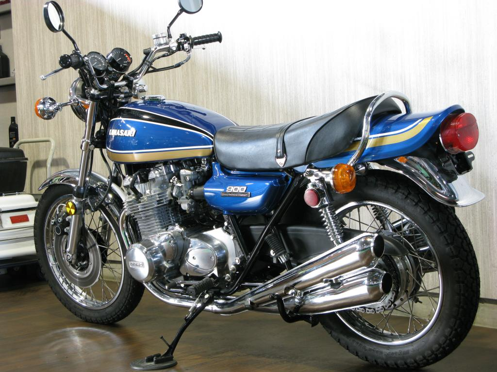 カワサキ 1974 Kawasaki Z1 車体写真6