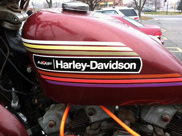 ハーレーダビッドソン 1974 XLCH 1000 車体写真9