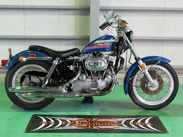 ハーレーダビッドソン 1974 XLH 1000 NonRestoration 車体写真1