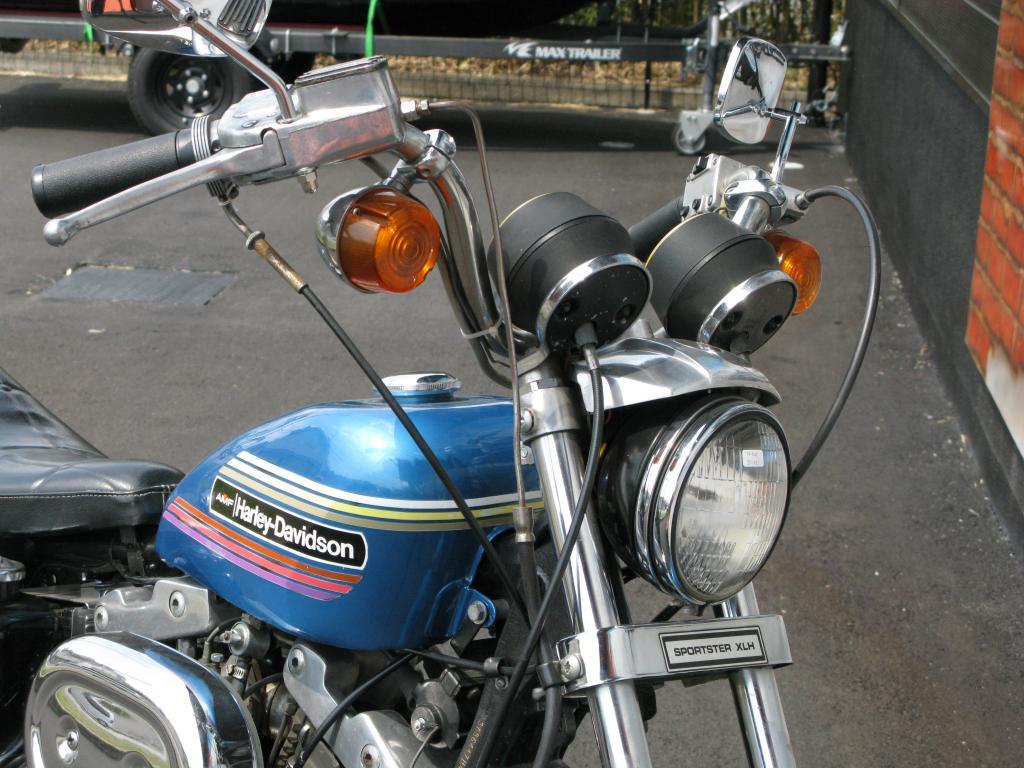 ハーレーダビッドソン 1974 XLH 1000 車体写真9