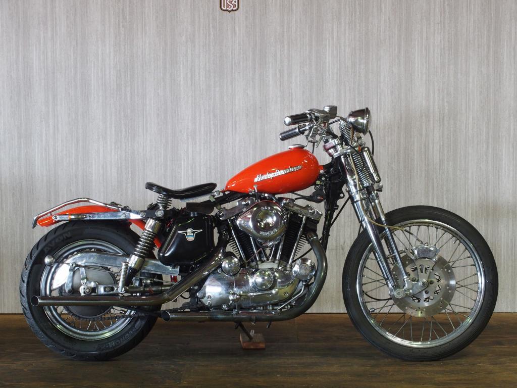 ハーレーダビッドソン 1974 XLH 1000 Custom 車体写真1