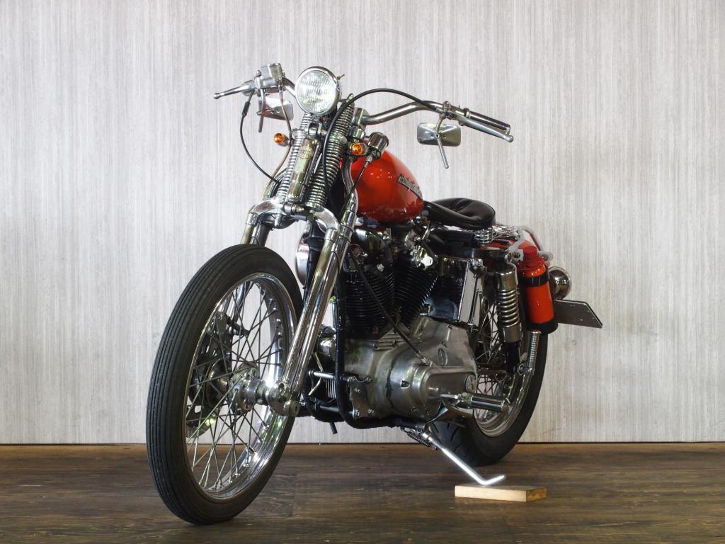 ハーレーダビッドソン 1974 XLH 1000 Custom 車体写真5