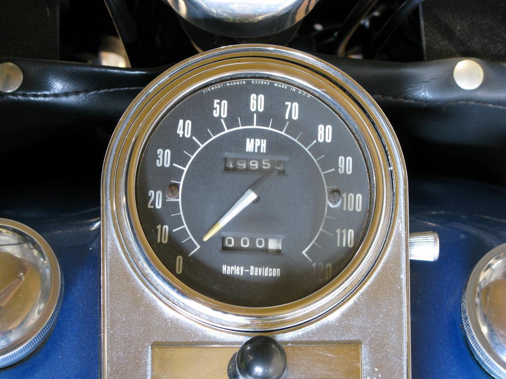 ハーレーダビッドソン 1975 FLH 1200 Liberator 車体写真9