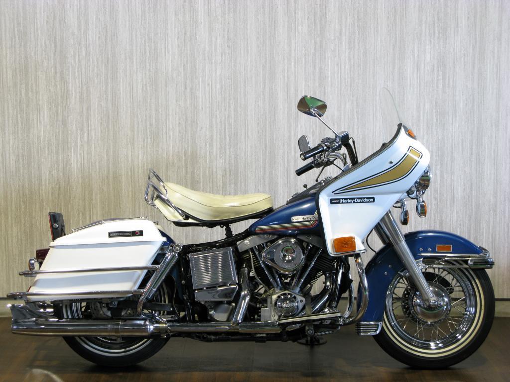 ハーレーダビッドソン 1975 FLH 1200 Liberator 車体写真1