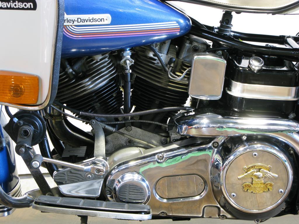 ハーレーダビッドソン 1975 FLH 1200 Liberator 車体写真8