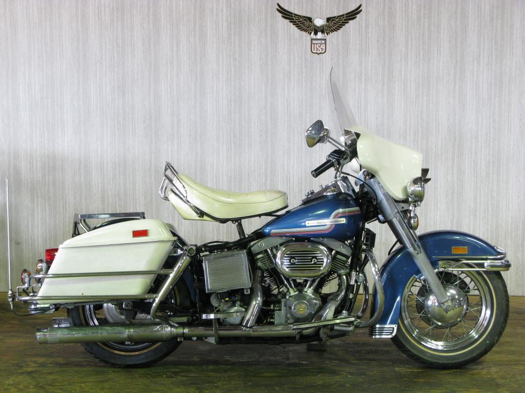 ハーレーダビッドソン 1975 FLH 1200 車体写真9