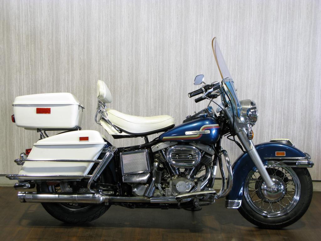ハーレーダビッドソン 1975 FLH 1200 車体写真1