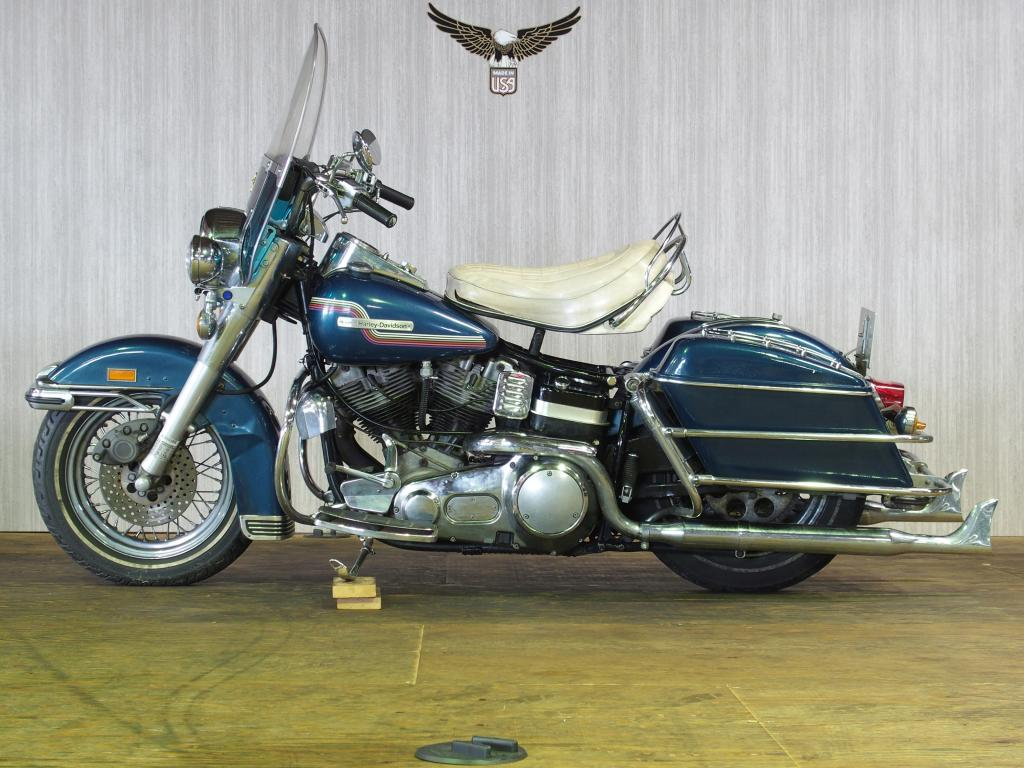 ハーレーダビッドソン 1975 FLH 1200 車体写真4