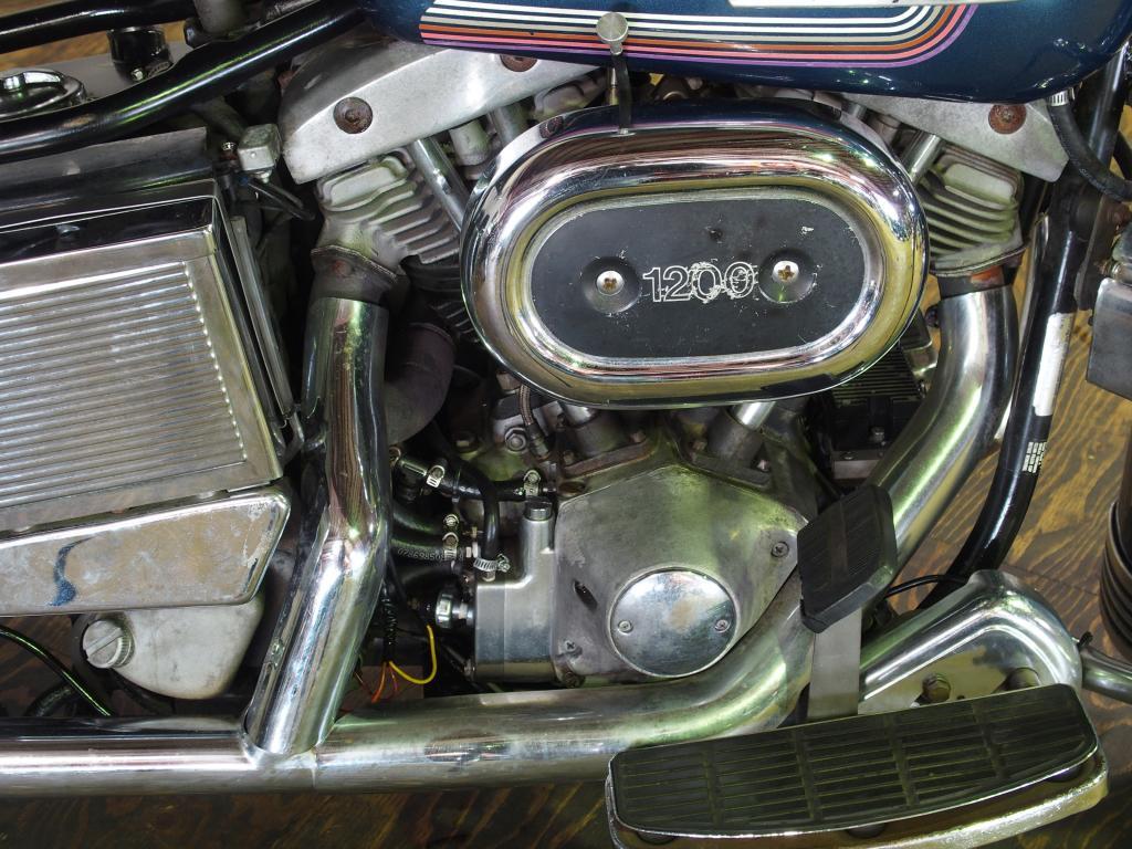 ハーレーダビッドソン 1975 FLH 1200 車体写真7