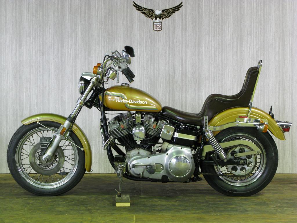 ハーレーダビッドソン 1975 FXE 1200 車体写真4