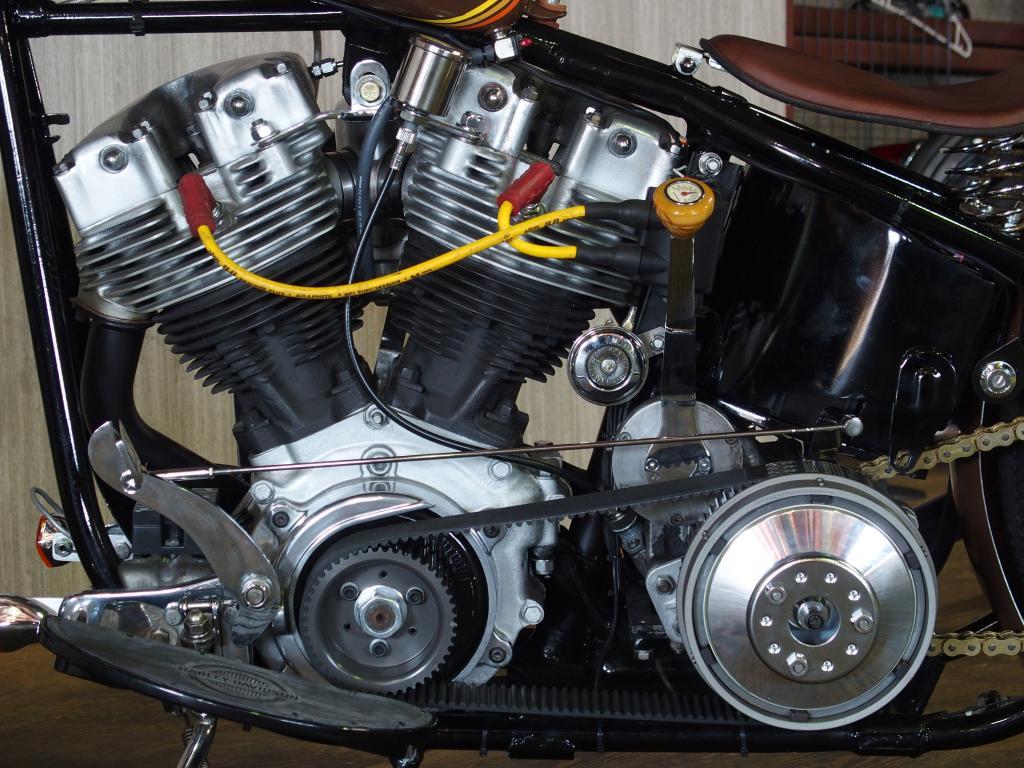 ハーレーダビッドソン 1975 FXE Ridgid Shovel 車体写真7