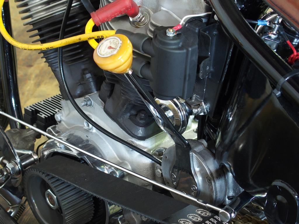ハーレーダビッドソン 1975 FXE Ridgid Shovel 車体写真10