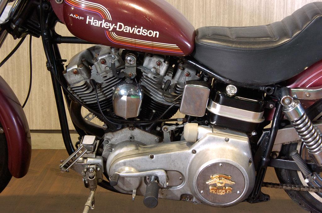 ハーレーダビッドソン 1975 FXE Super Glide 車体写真8