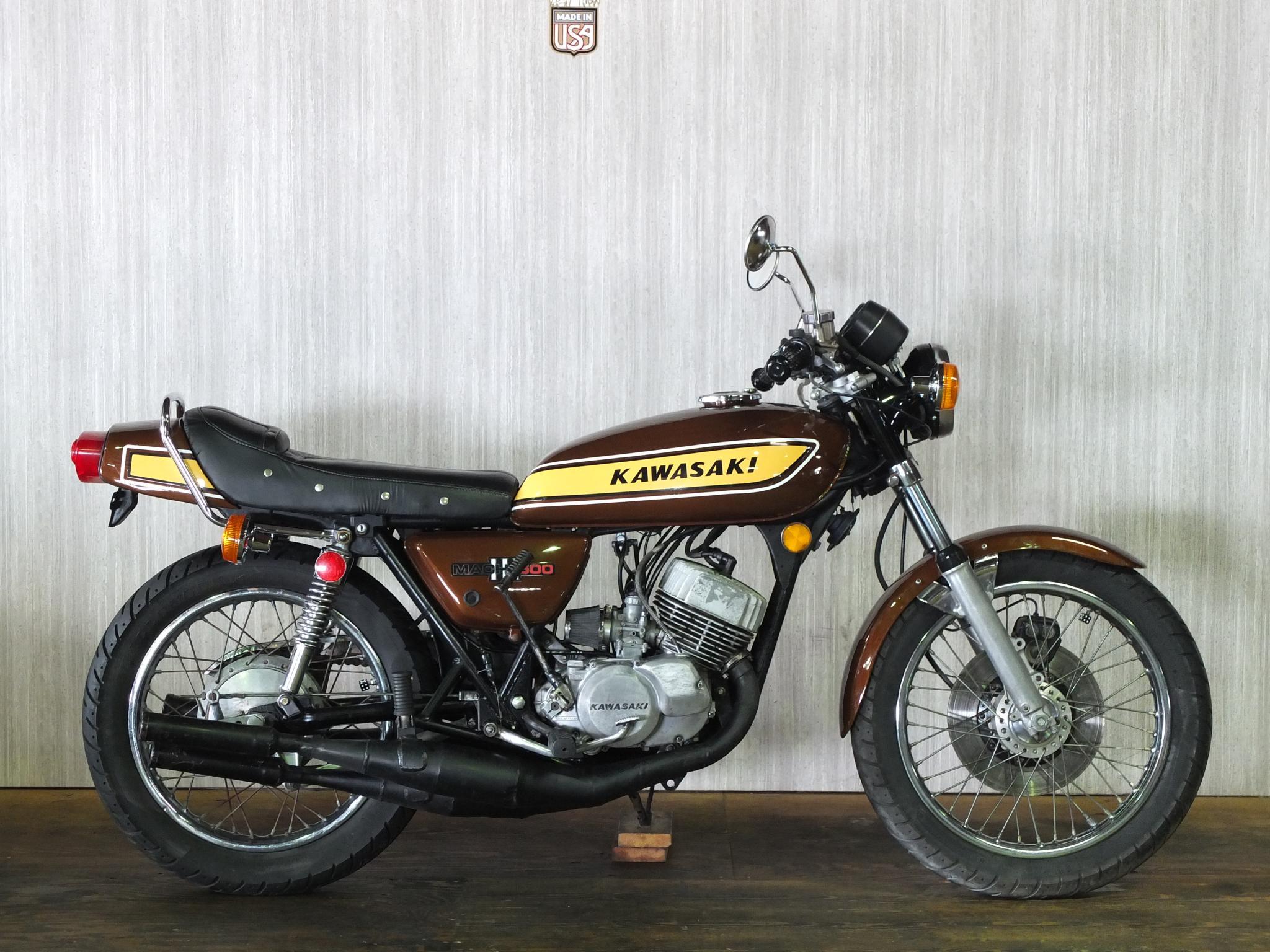 カワサキ 1975 Kawasaki SS500 車体写真1
