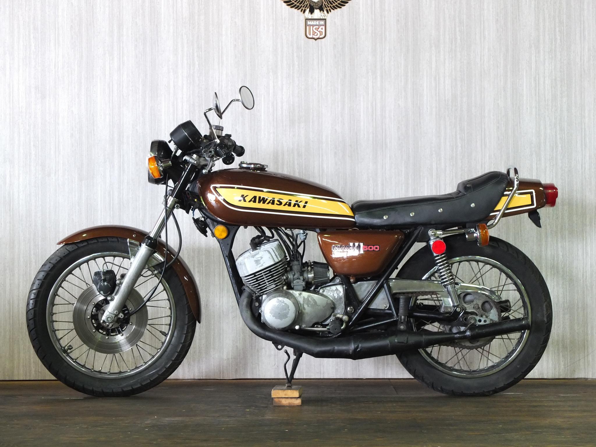 カワサキ 1975 Kawasaki SS500 車体写真4