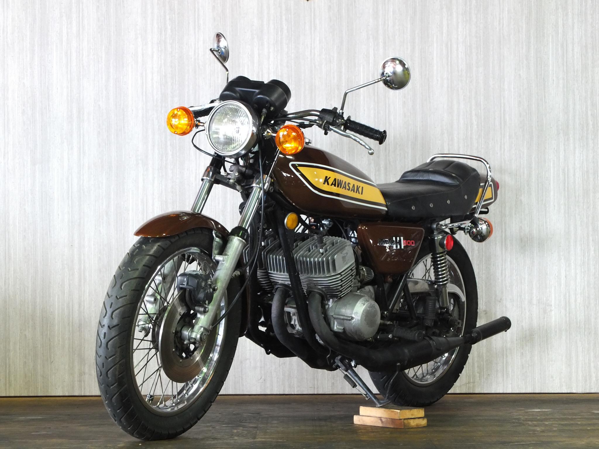 カワサキ 1975 Kawasaki SS500 車体写真5