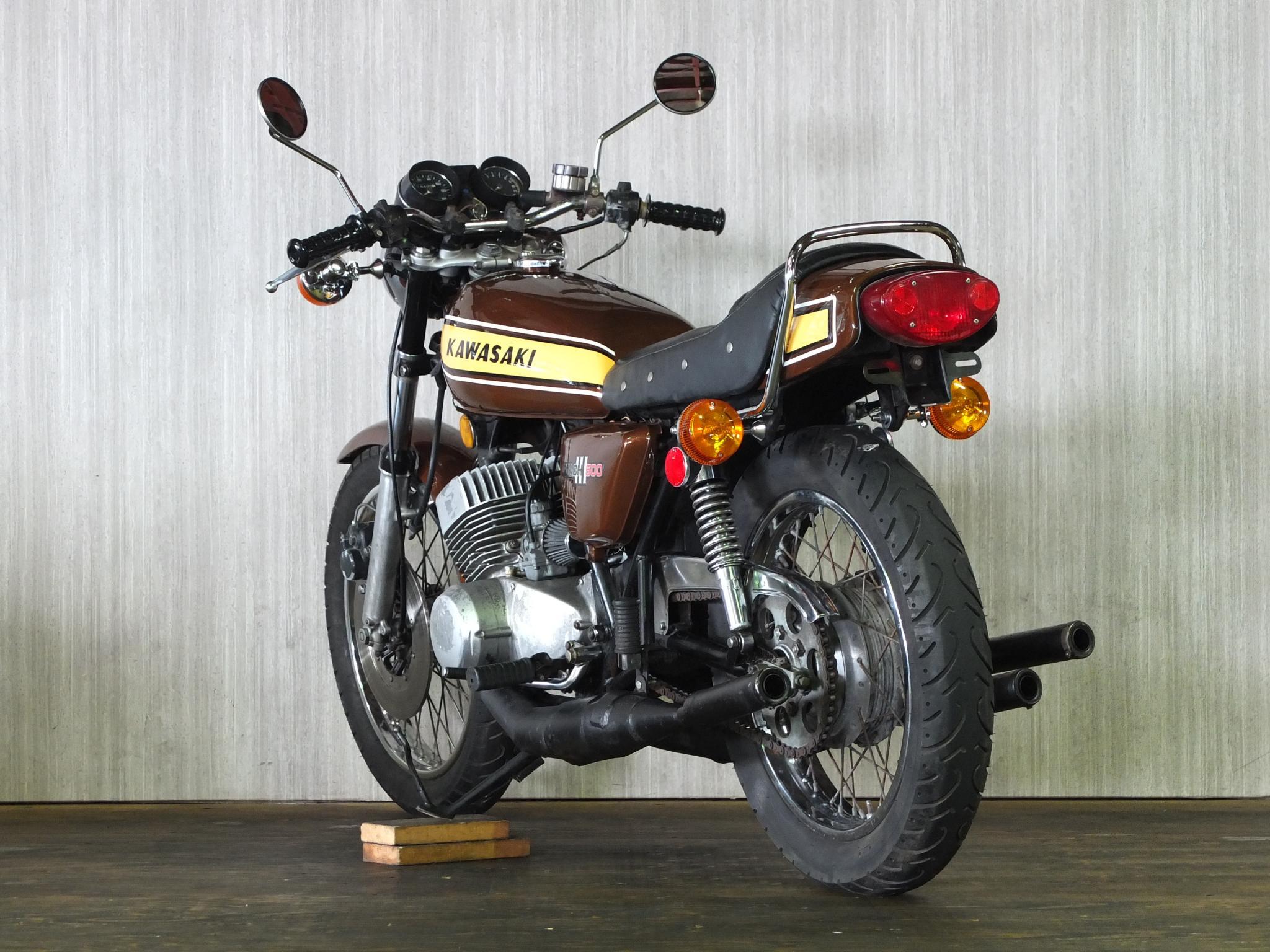カワサキ 1975 Kawasaki SS500 車体写真6