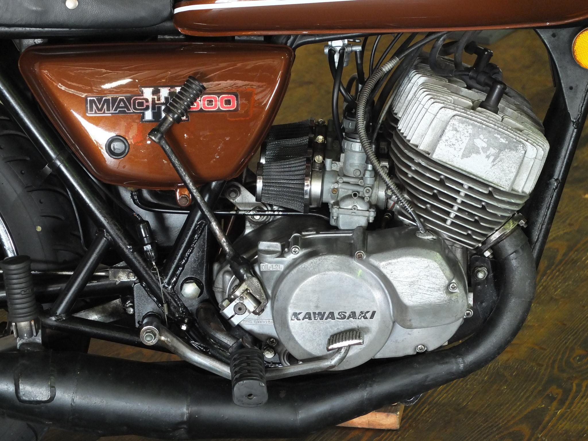カワサキ 1975 Kawasaki SS500 車体写真8