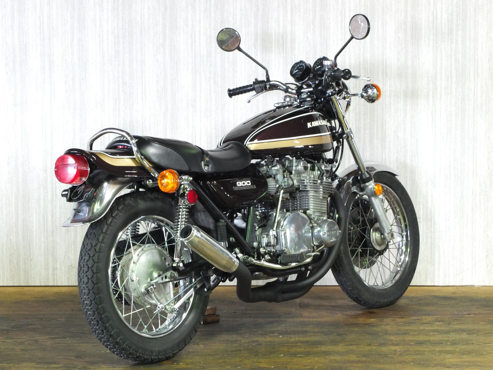 カワサキ 1975 Kawasaki Z900 Z1 車体写真3