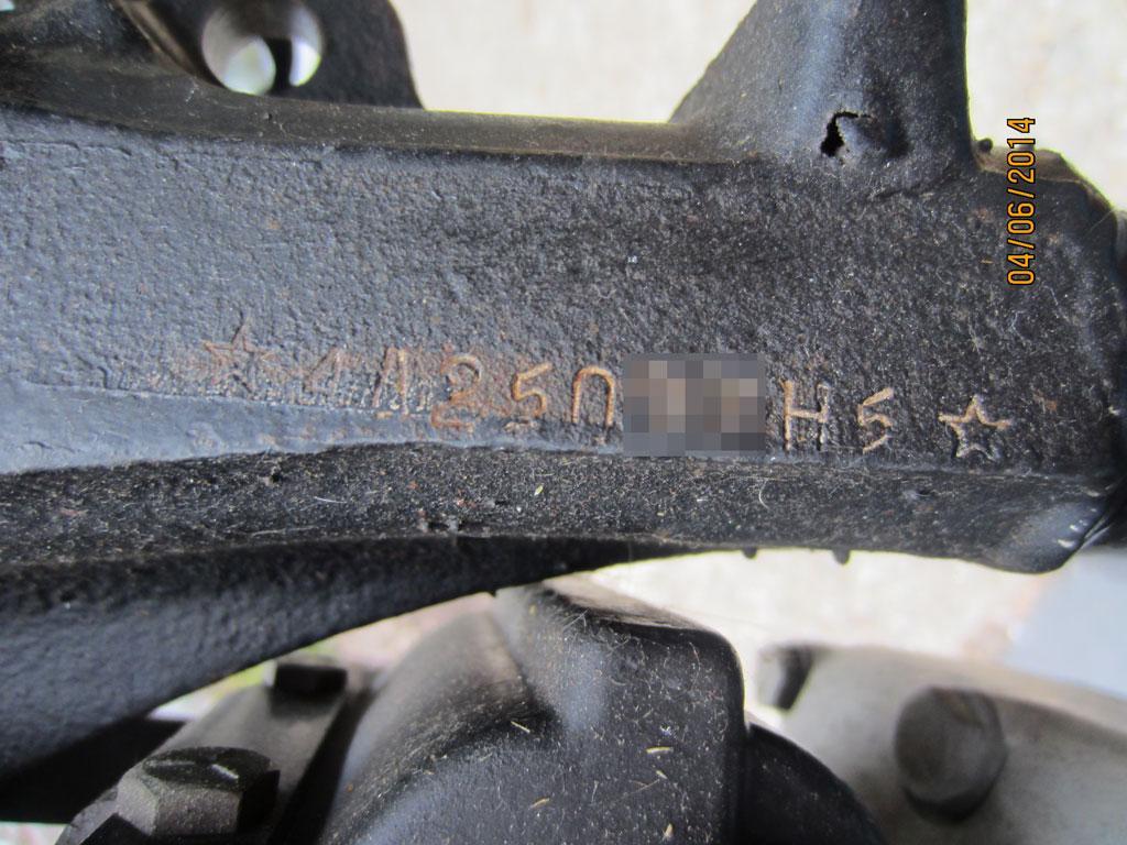 ハーレーダビッドソン 1975 XLCH 1000 車体写真11