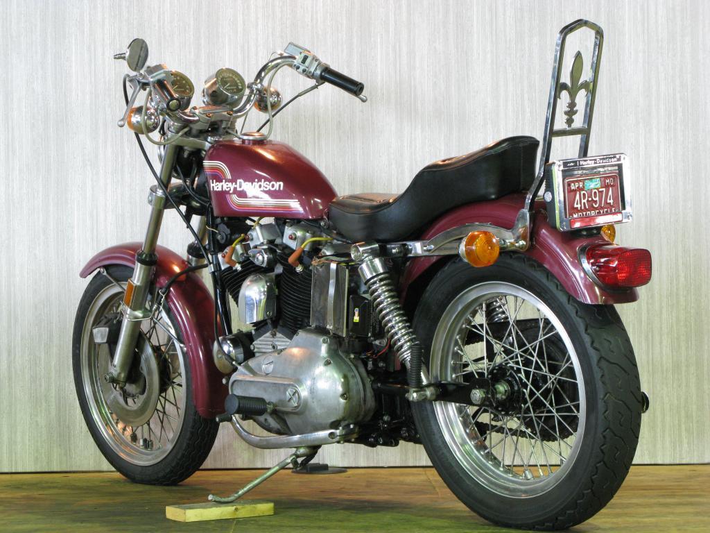 ハーレーダビッドソン 1975 XLH 1000 車体写真6