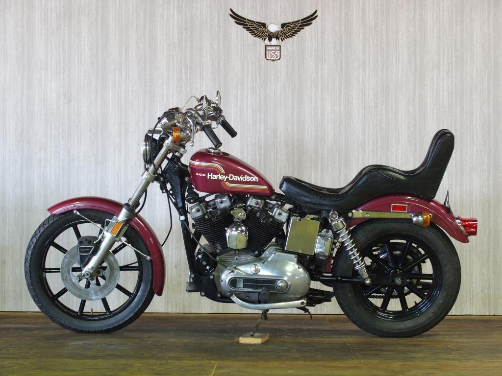 ハーレーダビッドソン 1975 XLH 1000 車体写真4