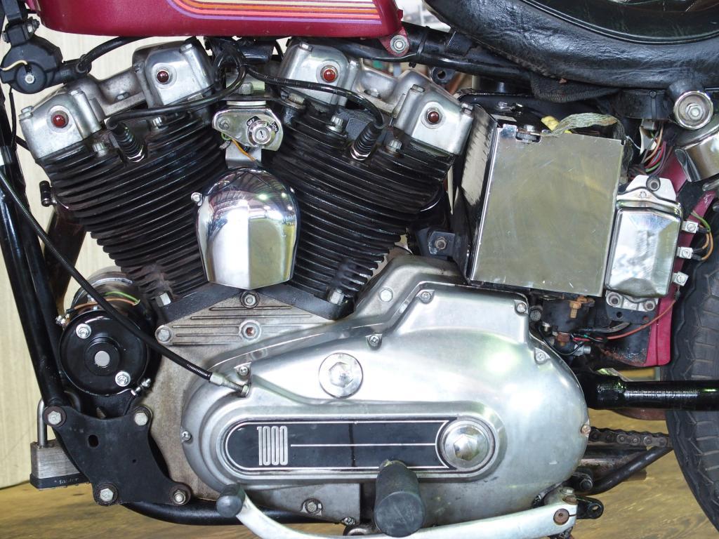 ハーレーダビッドソン 1975 XLH 1000 車体写真8