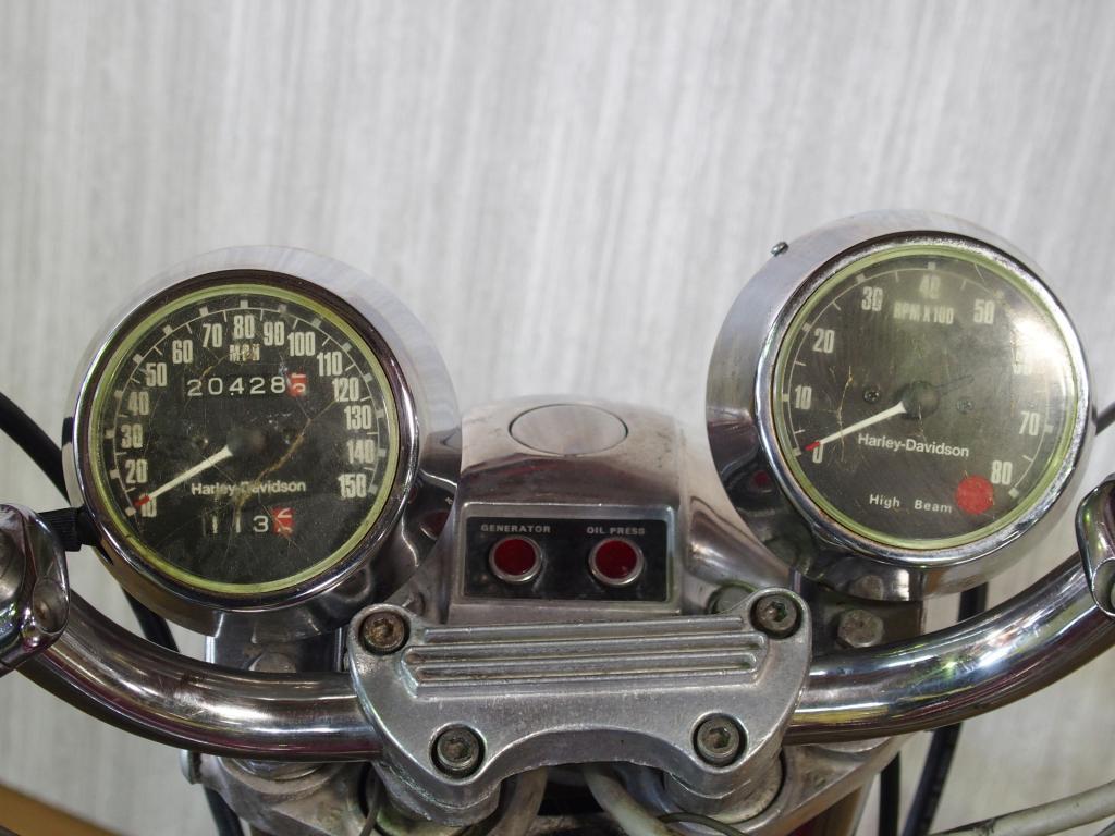 ハーレーダビッドソン 1975 XLH 1000 車体写真9
